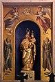 Casale monferrato, duomo, interno, altare della b.v. consolata, con statua del xvii secolo 01.jpg