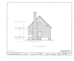 Cascine, State Route 1702, Louisburg, Franklin County, NC HABS NC,35-LOUBU.V,1- (sheet 5 of 12).png