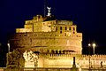 Castel Sant'Angelo (Rome) at night.jpg