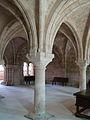 Castromonte monasterio Santa Espina sala capitular ni.jpg