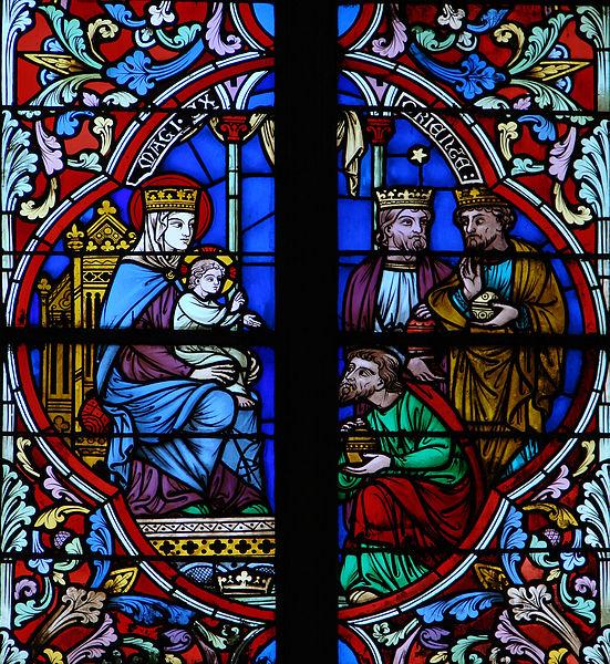File:Cathédrale de Meaux Vitrail Marie 290708 5.jpg