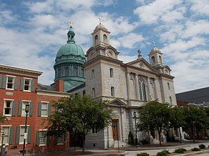 Roman Catholic Diocese of Harrisburg - Image: Cathedral of Saint Patrick Harrisburg, Pennsylvania 01
