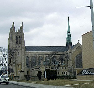 Roman Catholic Archdiocese of Detroit - Cathedral of the Most Blessed Sacrament in Detroit