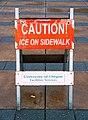 Caution Ice On Sidewalk Sign (39067075682).jpg