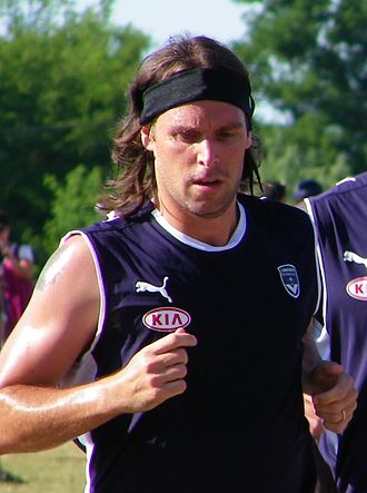 Fernando Cavenaghi - Cavenaghi training with Bordeaux