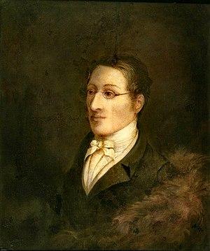 John Cawse - Portrait of Carl Maria von Weber, 1826.