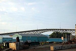 Illinois Route 29 - Cedar Street Bridge over the Illinois River in Peoria, Illinois.