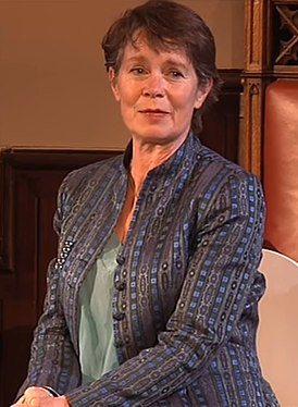Celia Imrie at the Cambridge Union Society Spring Wordfest.jpg