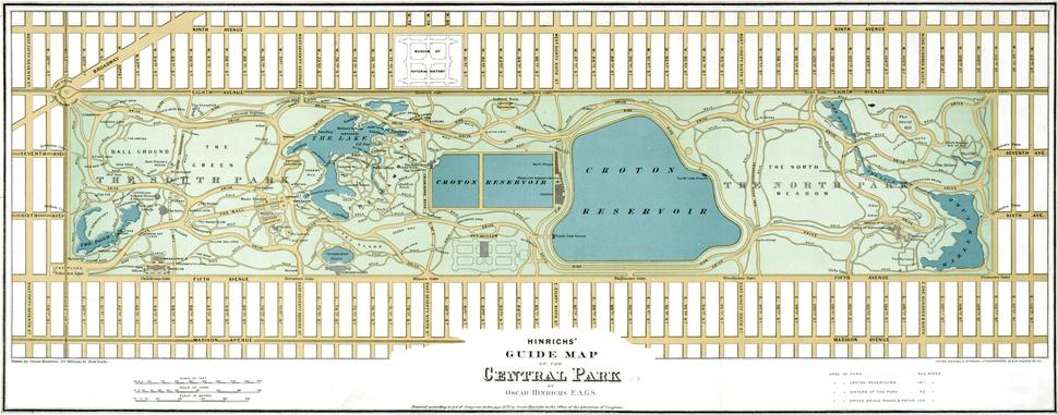 Central Park 1875 Restored