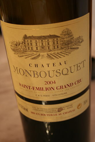Classification of Saint-Émilion wine - Château Monbousquet was one of the estates who had their initial promotions in the 2006 classification retracted following the controversy.