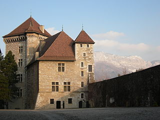 Château dAnnecy castle in Annecy, France