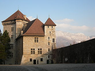 County of Geneva - Annecy Castle
