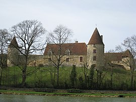 The Château de la Motte, in Arthel