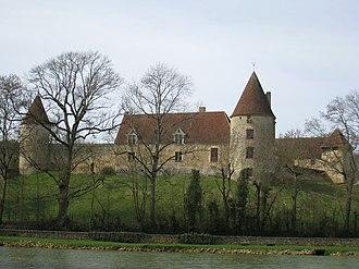 Arthel - The Château de la Motte, in Arthel