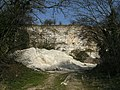 Chalk quarry - geograph.org.uk - 390247.jpg