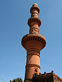 Chand Minar at Daulatabad fort.JPG
