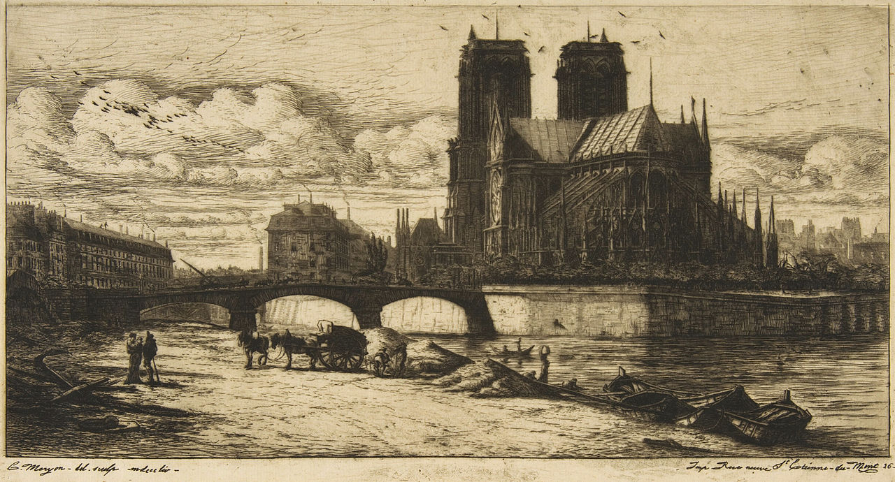 File Charles Meryon The Apse Of Notre Dame Paris 1854