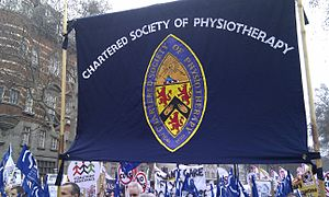 Chartered Society of Physiotherapy - Chartered Society of Physiotherapy banner 2011