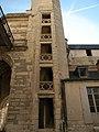 Chateau de Vincennes - chatelet escalier hors d'oeuvre 02.JPG
