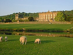 Garden Of Chatsworth House, By Capability Brown