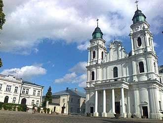 Lublin Voivodeship - Basilica of the Birth of the Virgin Mary in Chełm
