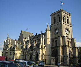 Image illustrative de l'article Basilique Sainte-Trinité de Cherbourg