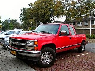 Chevrolet C/K (fourth generation) American truck series