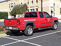 Chevrolet Silverado, Jeff Davis County Courthouse parking lot.JPG