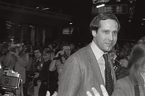 Chevy Chase - Chevy Chase at the premiere of the movie Seems Like Old Times, December 10, 1980