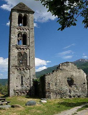 La Chiesa sconsacrata di S. Pietro di Chianocco, abbandonata per le alluvioni