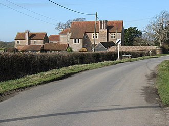 Chiddingly - The Granary, the Farm and Chapel-Barn of Chiddingly Place