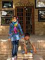 Children in Ribat-i-Abbasi of Nishapur (Hossein - Ali - Fatemeh - Hengameh and another girl - probably Afghani) 20.jpg
