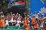 Children perform during Hanoi's 1,000th anniversary celebrations. (5052682687).jpg