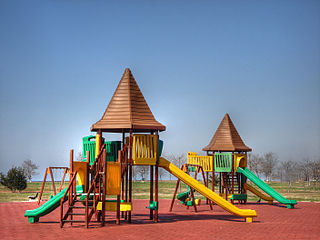 Playground Place with a specific design for children to be able to play there