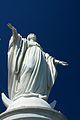 Chile - Santiago 32 - Virgin Mary statue on Cerro San Crisóbal (6831671952).jpg
