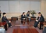 Chinami Honda Tetsuro Fukuyama and Robert R King 20100115.jpg