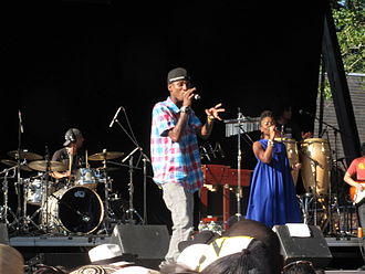 ChocQuibTown - ChocQuibTown performing at Central Park Summer Stage, New York City, 2011
