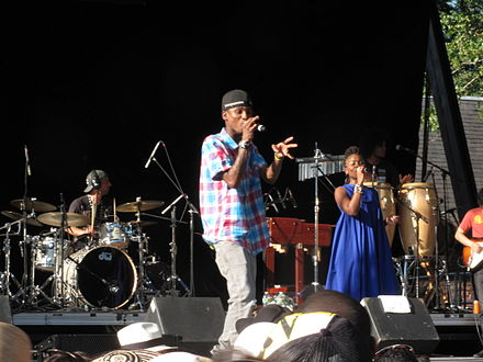 ChocQuibTown performing at Central Park Summer Stage. Choc-quib-town.JPG