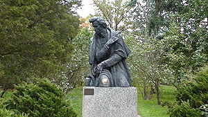 Memorials to Frédéric Chopin - Frédéric Chopin monument in Żelazowa Wola, the composer's birthplace