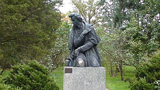Józef Gosławski (sculptor) - Monument of Frédéric Chopin in Żelazowa Wola (1955/1969)
