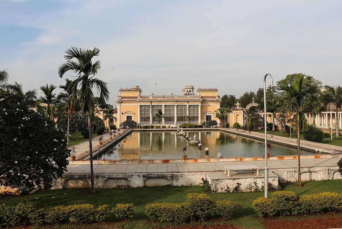 Chowmahalla Palace in Hyd