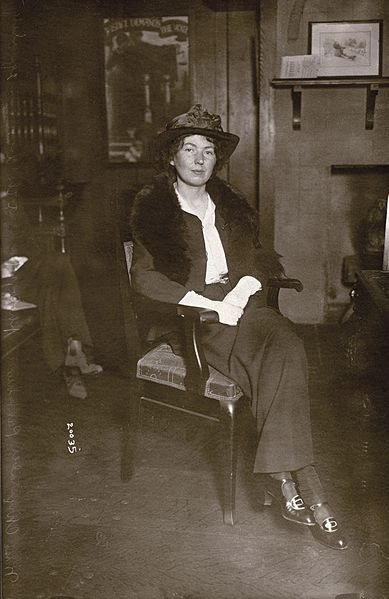 File:Christabel Pankhurst in New York, c.1914. (22319708894).jpg