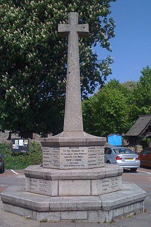 Christchurch, Newport - War Memorial, Christchurch, Newport