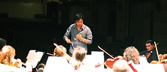 Christopher Tin - Christopher Tin rehearses the Golden State Pops Orchestra, 2011