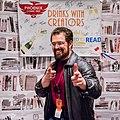 Christopher Paolini 2018 Phoenix Comic Fest Drinks with Creators.jpg