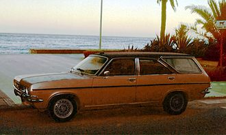 Chrysler 180 - A Spanish Chrysler 180 converted to estate