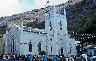 Jamestown, Saint Helena - St James' Church in 1984