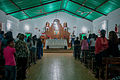 Church in Christmas Mass, Chaguaramal, Miranda State. Venezuela.jpg
