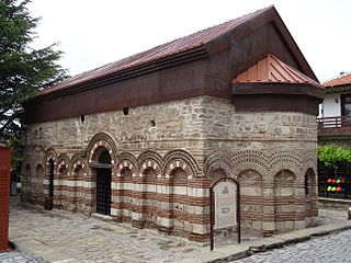 church building in Nesebar, Bulgaria