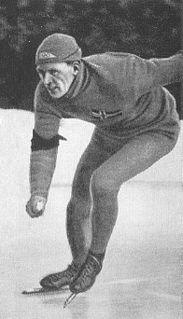 Hans Engnestangen Norwegian speed skater